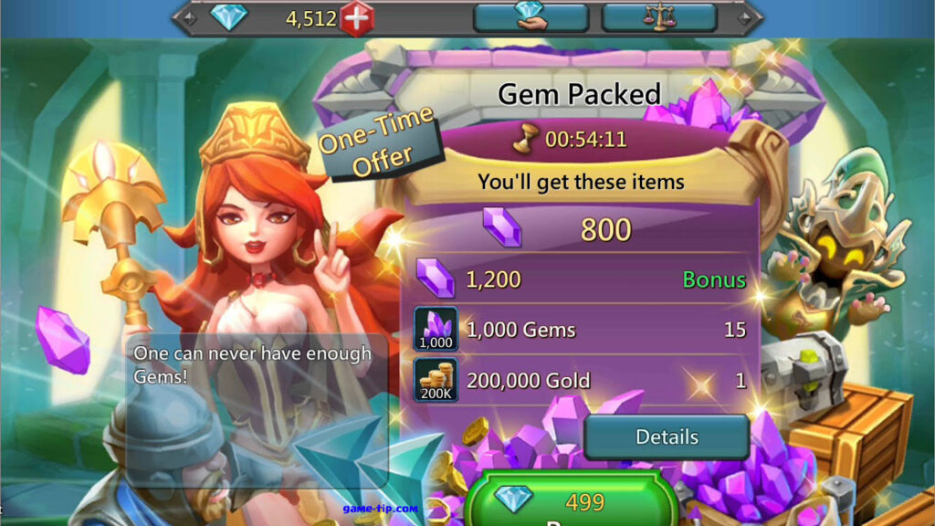 Lords Mobile Free Gems